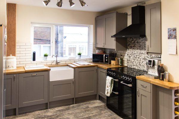 Kitchen refurbishment, Royton