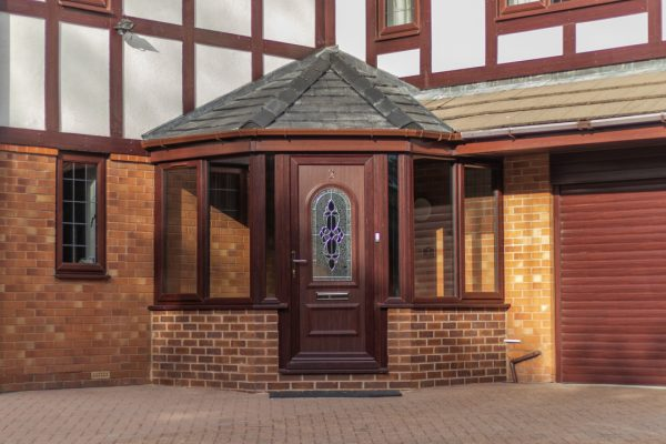 UPVC Front Porch in Littleborough, Rochdale