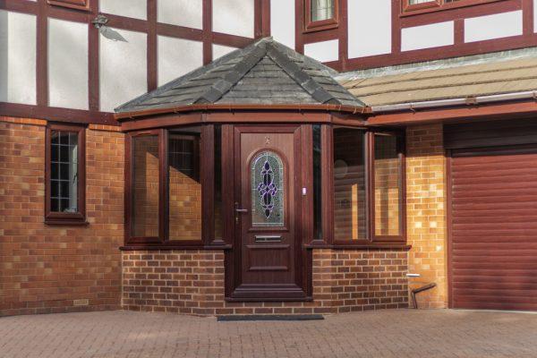 UPVC Front Porch in Littleborough, Rochdale